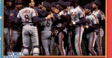 last time mets won the world series